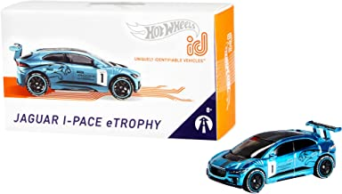 Hot Wheels id Jaguar I-Pace eTrophy {Moving Forward} [Amazon Exclusive], Multi