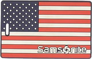 Samsonite Designer Luggage ID Tag, American Flag, One Size