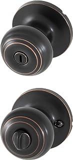 Honeywell Safes & Door Locks 8101402 Honeywell Locking Door Knob, Oil Rubbed Bronze