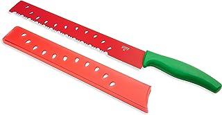 سكين ميلون من كون ريكون، ستانلس ستيل، أخضر أحمر، 41.4 سم