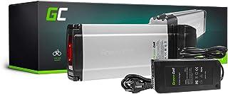 GC® Batería E-Bike 36V 11.6Ah Bicicleta Eléctrica Rear Rack Li-Ion con Celdas Panasonic y Cargador Extrbici Greyp Bikes Rock Machine