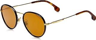 نظارات شمسية اوفال للجنسين من كاريرا، 151/S - ذهبي