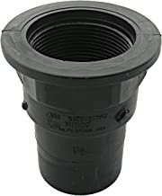 LASCO RV280 Tray Plug Adapted with 1 1/2-Inch Fitting and Female Pipe Thread, ABS Black Plastic