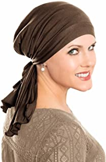 Cardani So Simple Scarf - Pre Tied Head Scarf for Women in Soft Bamboo - Cancer & Chemo Patients