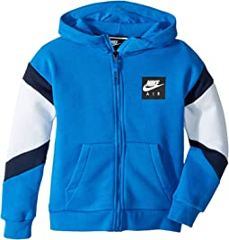 Nike Air Full Zip Hoodie (Little Kids)