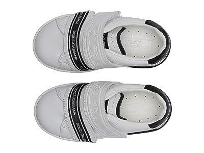 Dolce & Gabbana Kids Sneaker Classica Pium+Pium.Ter (Toddler/Little Kid) (Bianco/Nero) Kid