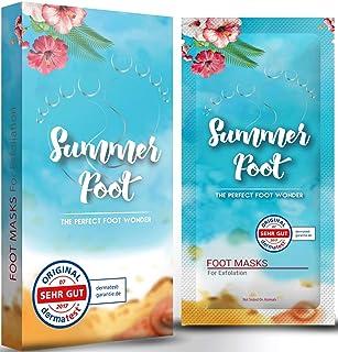 Summer Foot mascarilla exfoliación de pies, elimina callos