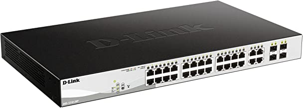 D-Link WebSmart DGS-1210-28P Ethernet Switch