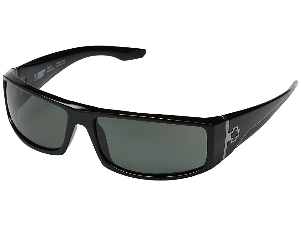 Spy Optic Cooper (Black/Happy Gray Green Polar) Sport Sunglasses