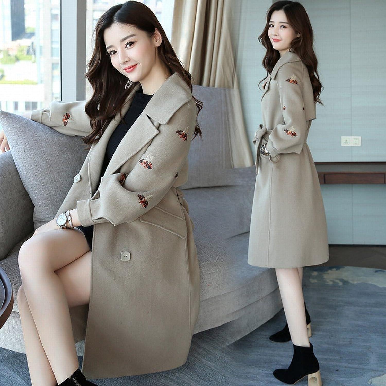 BTTB Stylish Long Coat Jacket Female Long Sleeve Temperament Elegant Sweet Bow Knot Clothing