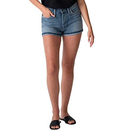 Silver Jeans Co. Avery High-Rise Curvy Fit Shorts L54909EPK252