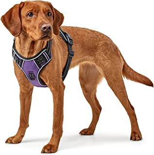 EAVSOW Dog Harness - No-Pull Pet Harness - Adjustable Outdoor Pet Vest - Reflective Oxford Material Vest for Dogs - Easy C...