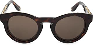 Givenchy GV 7007 086 Studed Havana Plastic Round Sunglasses