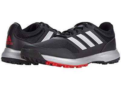 adidas Golf Tech Response SL (Black/Silver Metallic/Scarlet) Men