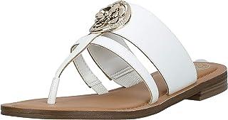 GUESS Genera Women's Shoes, White (White WHILL), 39 EU