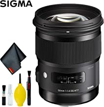 Sigma 50mm f/1.4 DG HSM Art Lens for Canon EF Standard Kit