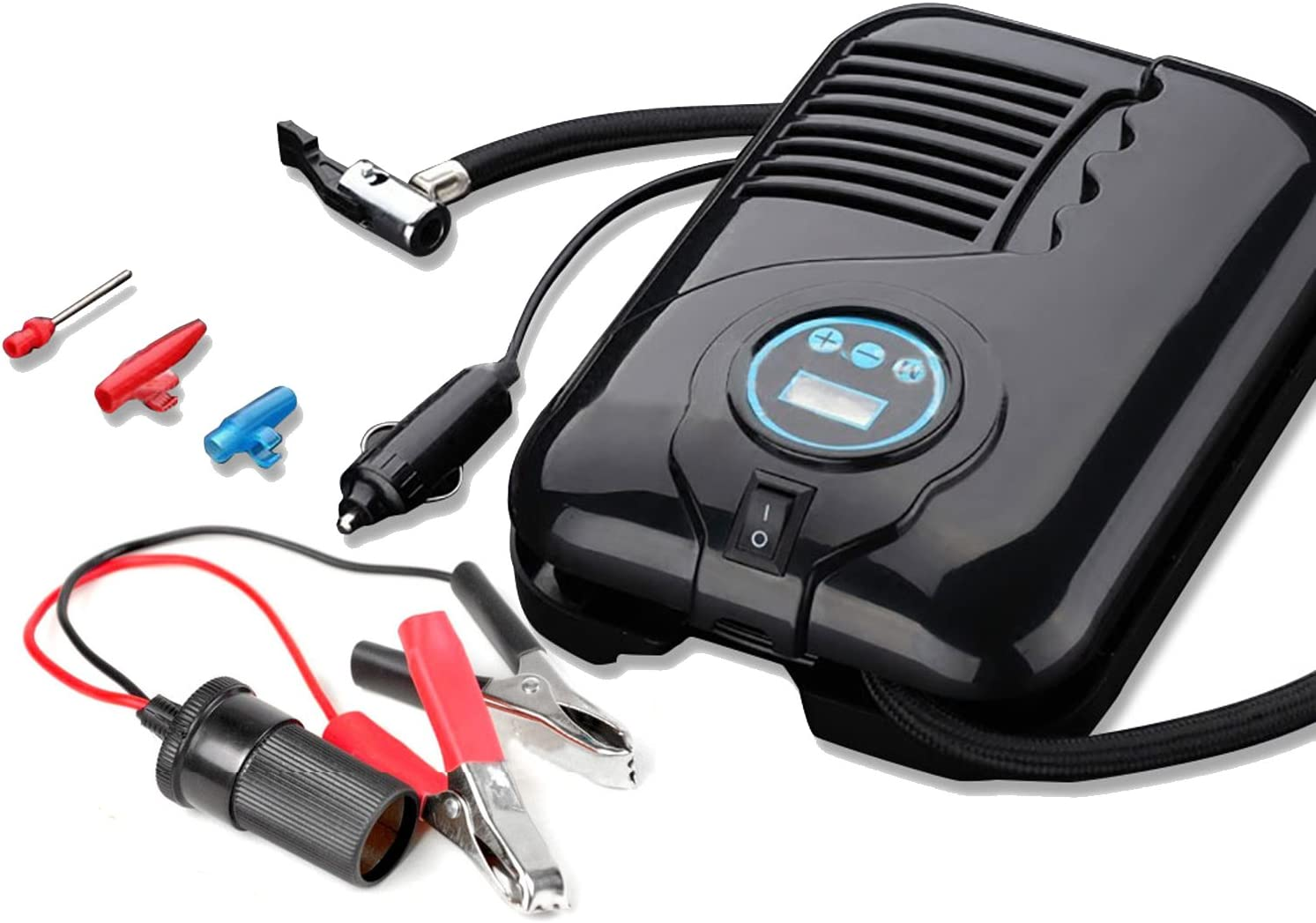NUZAMAS Tire Inflator Portable Air with Popular brand in the world Compressor LED All items in the store P Digital