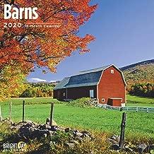 2020 Barns Calendar 16 Month 12 x 12 Wall Calendar by Bright Day Calendars (Country Side Wall Calendar)