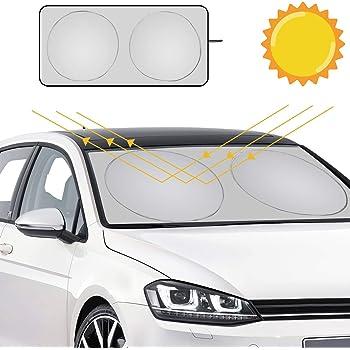 Car Universal Car Sunshades Shield Cover Protector 27.5 x 51 Inch Lihaky Star Trek Windshield Sun Shades Blocks UV Rays Sun Foldable Visor