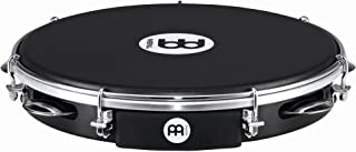 Meinl Percussion PA10ABS-BK-NH 10-Inch ABS Plastic Pandeiro with Napa Head, Black