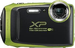 Fujifilm FinePix XP130 Waterproof Digital Camera w/16GB SD Card - Lime