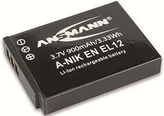 Ansmann 5044483 - A-Nik ENEL 12 Li-Ion batería 37V/900mAh para cámara digital de fotos Nikon