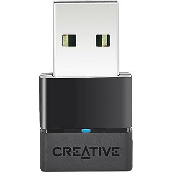 Creative BT-W2 Bluetooth USB オーディオ専用アダプター 低遅延 aptX Low Latency (aptX LL)対応 PC用ドライバーのインストール不要 PS4対応 HP-BTW2