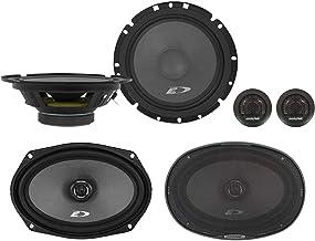 "$84 » Alpine SXE-1751S 6.5"" 280w Component+SXE-6926S 6x9 280w Car Coaxial Speakers"