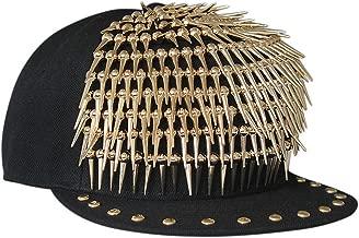 FTSUCQ Unisex Cotton Rivet Sunshading Hip-Hop Style Hat Baseball Cap