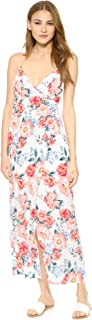 MINKPINK Women's Little Blooms Maxi Wrap Dress