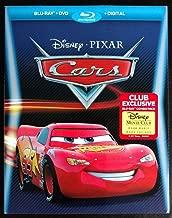 Cars Disney Movie Club Exclusive Blu-ray, DVD, Digital Combo Pack [Blu-ray] [2017]