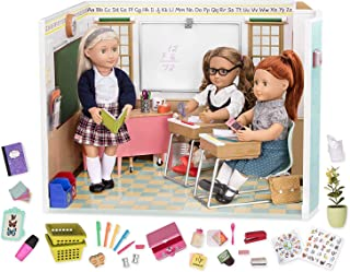 """Our Generation Awesome Academy School Set - 76 Piece Set, Compatible with 18"""" Dolls"""