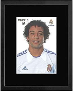 Stick It On Your Wall Real Madrid F.C - 12 Marcelo Framed Mini Poster - 22.7x17.5cm