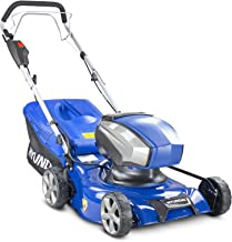 Hyundai 40v Lithium-ion Cordless Battery Powered Self Propelled Lawnmower, 42cm Cutting Width, Includes Battery & Charger,...