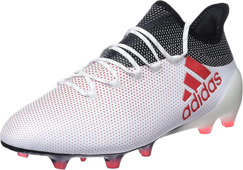 adidas X 17.1 FG, Chaussures de Football Homme Blanc Ftwwht Reacor Cblack Ftwwht Reacor Cblack