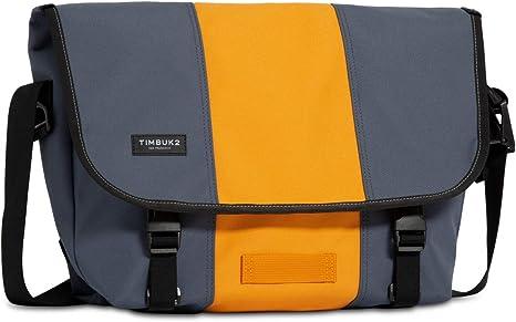 grey and yellow shaded bag