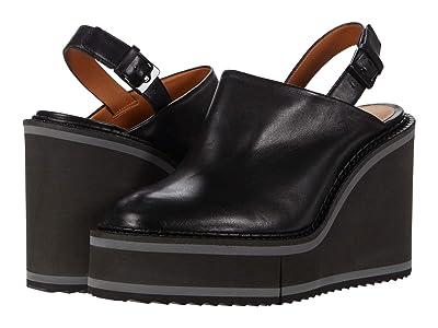 Clergerie Baila (Black Nappa Leather) Women