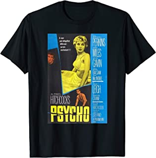 Psycho 1960 Horror Movie Poster Perfect Scary Gift Love Art T-Shirt