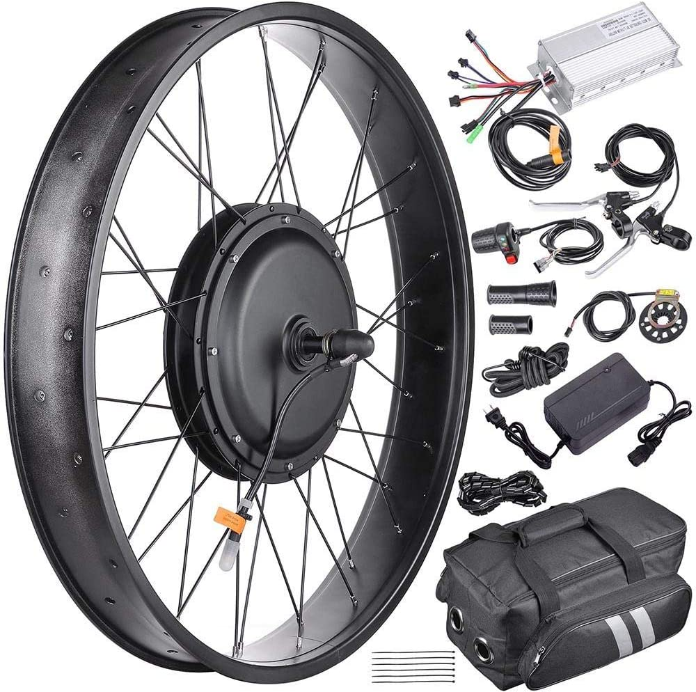 26 supreme inch Front Fat Shipping included Tire Frame 48V Electric Conversi 1000W Bicycle