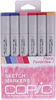 Copic Markers Markers Sketch Marker 6 Pack Floral Favorites 2