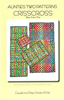 Crisscross Pattern Woven Fabric Mats Rug Table Runner Pad Placemat 4 Size Options