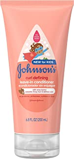 Johnson's Curl Defining Tear-Free Kids' Leave-in Conditioner with Shea Butter,..