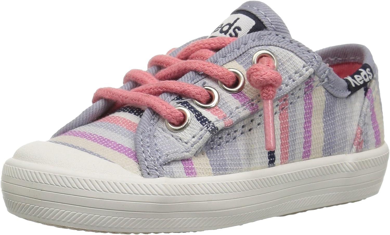 Keds Girls' Kickstart Seasonal Toe Cap Jr. Sneaker