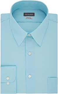 Van Heusen Men's Shirt Regular Fit Poplin Solid