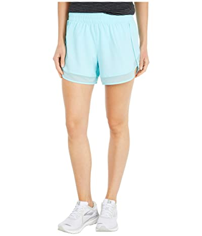 Jockey Active Gravity Stretch Woven Shorts (Angel Blue) Women