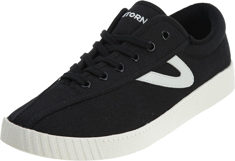 TRETORN Women's Nylite Sneakers, Black, 8 Medium US