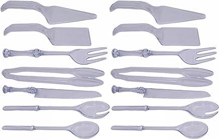 100 Pieces Clear Plastic Tea Spoons Ice Cream Spoons Coffee Spoons Mixing Spoon Set luzen