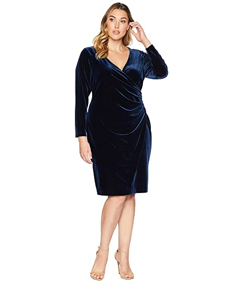 LAUREN Ralph Lauren Plus Size Torelana Dress at Zappos.com