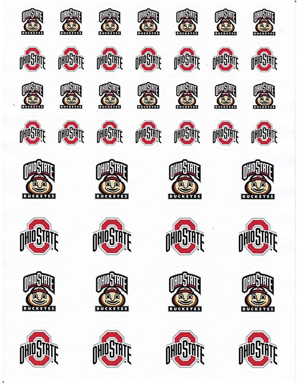 Ohio State Buckeyes Small Sticker Sheet  2 Sheets