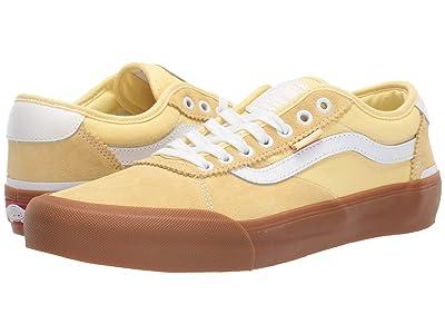 Vans Chima Pro 2 ((Gum) Pale Banana/True White) Skate Shoes